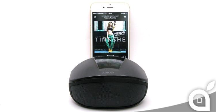 iSpazio sconta Aukey BT013: design e potenza in uno speaker Bluetooth portatile – La Recensione di iSpazio