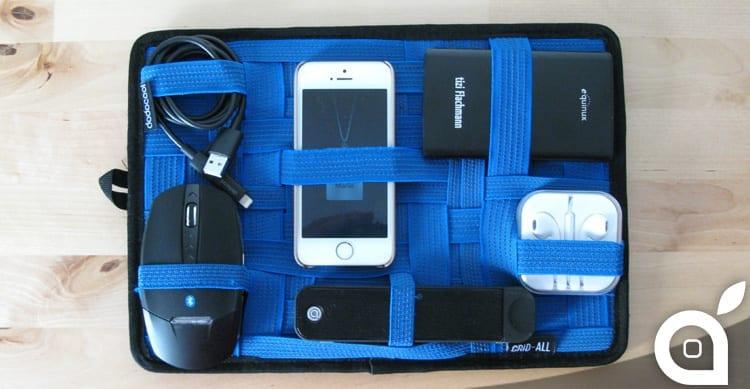 iSpazio sconta Dodocool Grid-All: borsa sempre in ordine, accessori sempre a portata di mano – La Recensione di iSpazio