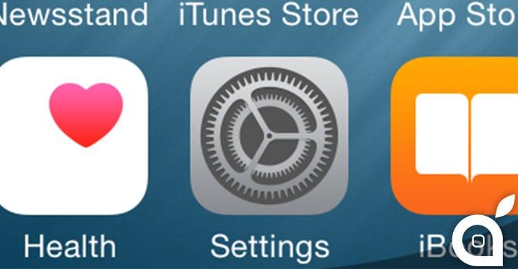Cosa cambia nelle impostazioni di iOS 8?