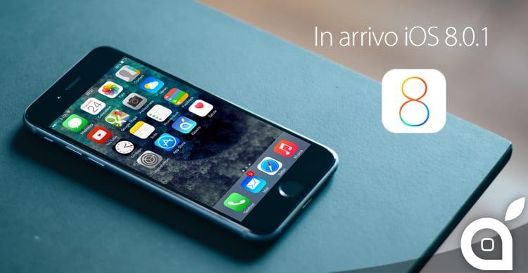 iOS 8.0.1 arriverà a breve per correggere svariati bug