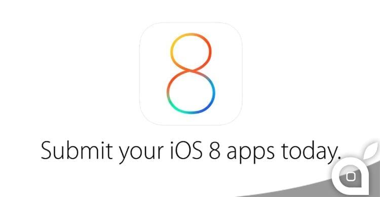 E' ora possibile inviare ad Apple le applicazioni per iOS 8