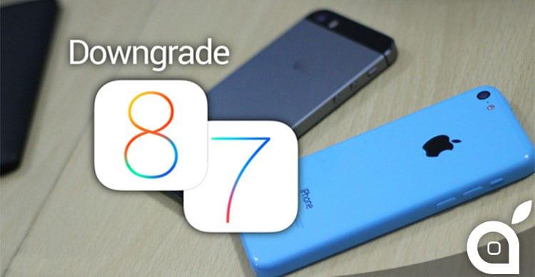 Ecco come effettuare il downgrade di iOS 8 e tornare ad iOS 7.1.2