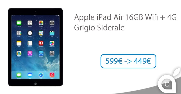 ipad air sconto