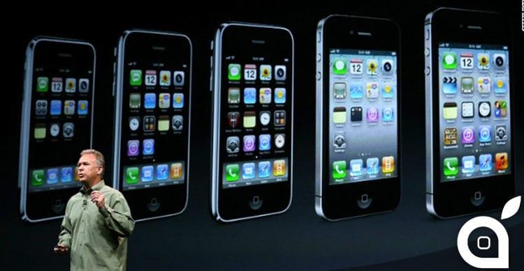 L'evoluzione di iPhone negli anni in un confronto fotografico