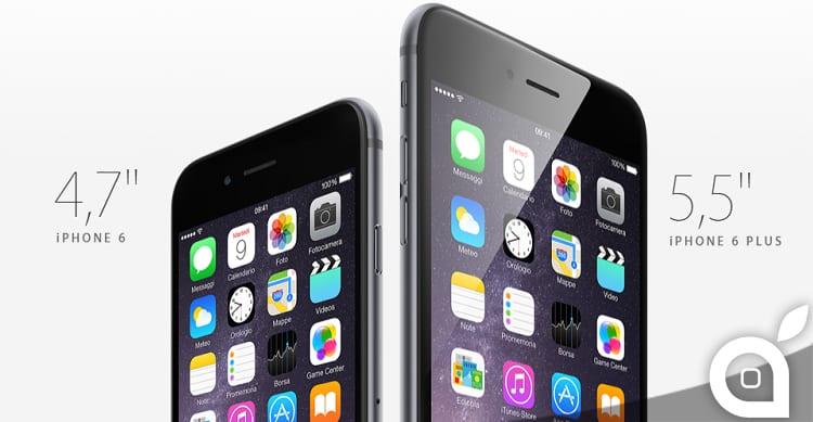 Secondo i primi dati, iPhone 6 è più richiesto di iPhone 6 Plus