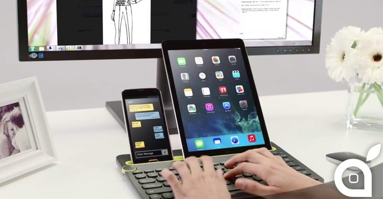 Logitech K480: scriviamo contemporaneamente su Mac, iPhone ed iPad con una sola tastiera [Video]