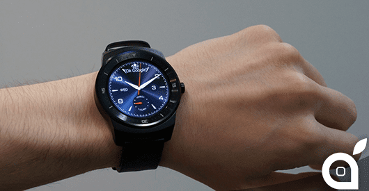 IFA 2014 : LG mostra dal vivo il nuovo LG G Watch R