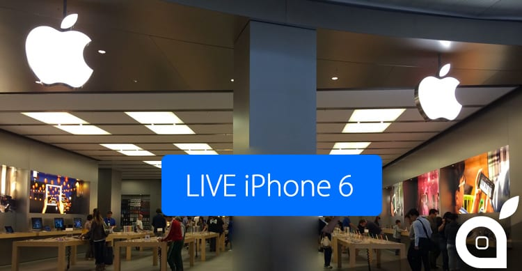 iPhone 6 e 6 Plus arrivano in Italia: il LIVE di iSpazio