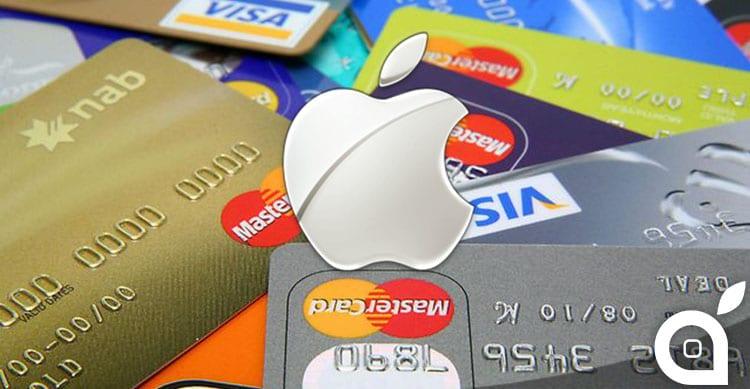 Anche Visa e Mastercard rientrano negli accordi con Apple