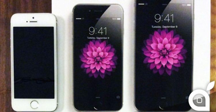 pubblicità iphone 6