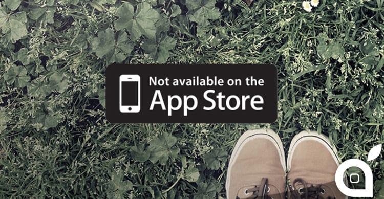 rifiuto delle app su App Store