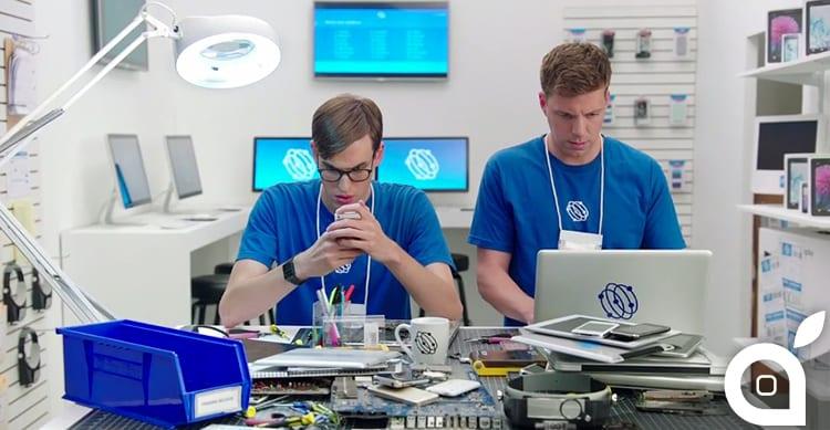 Samsung si fa beffa di Apple in 6 nuovi spot dove critica l'iPhone 6, l'Apple Watch e perfino lo streaming