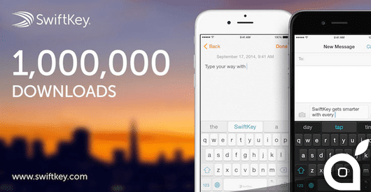 SwiftKey raggiunge 1 milione di download in sole 24 ore!