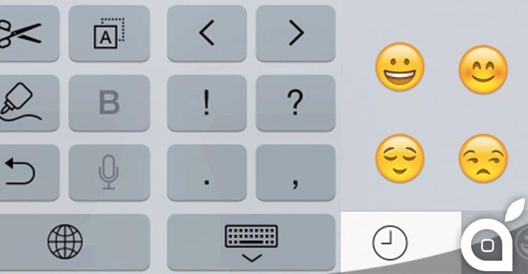 tastiera iphone 6