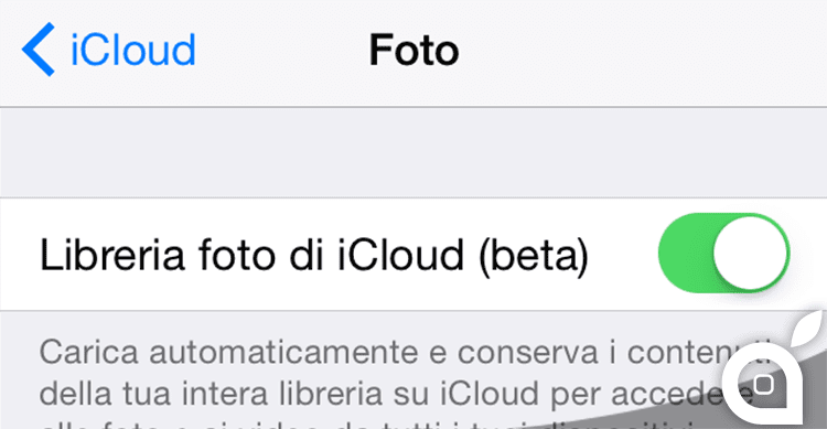 Libreria Foto di iCloud finalmente disponibile in beta con iOS 8.1