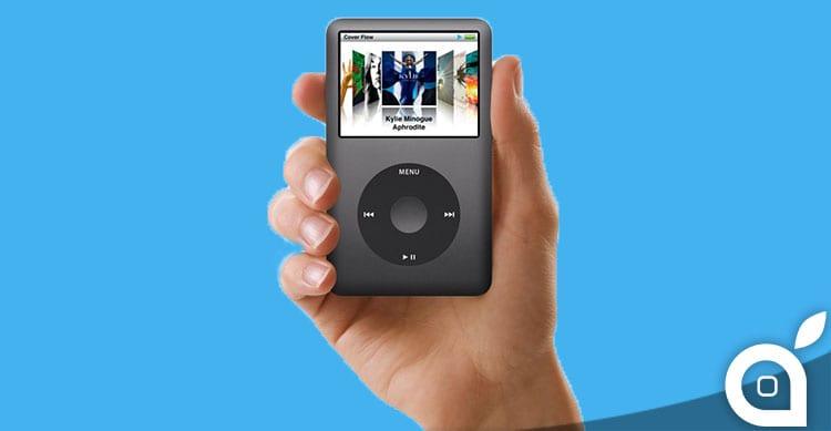 addio iPod classic