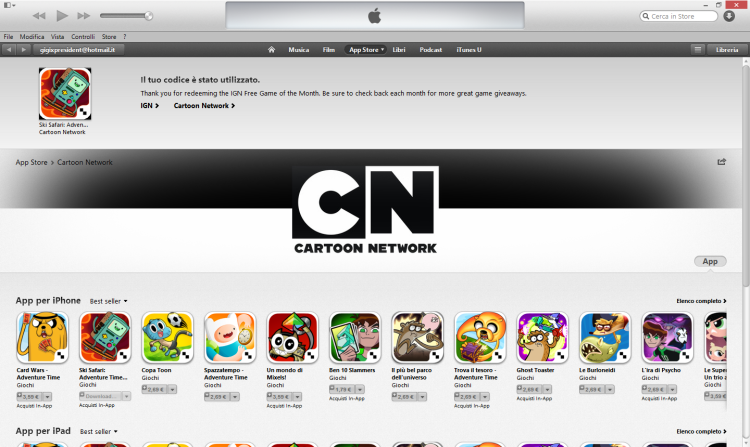 adventure time itunes ign