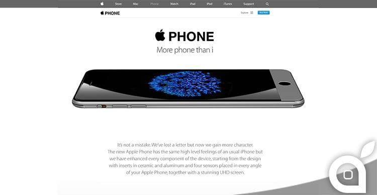 Apple Phone: il nuovo concept di Adr Studio