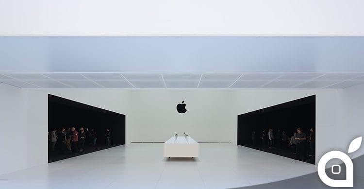 apple edificio bianco