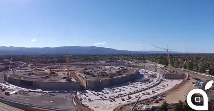 Apple Campus 2: nuovo video da un drone [Video]