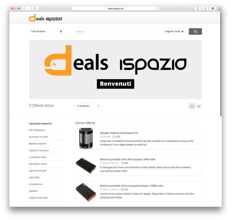 deals ispazio home page