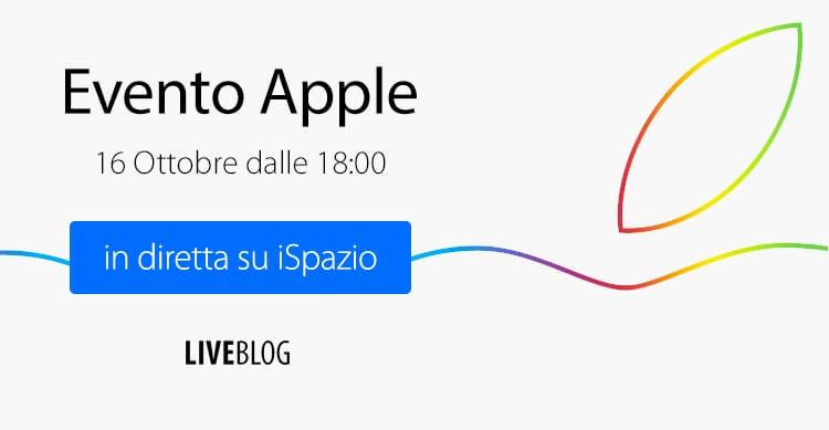 Nuovi iPad e nuovi Mac: Segui in diretta il nuovo Evento Apple del 16 Ottobre su iSpazio [ONLINE]
