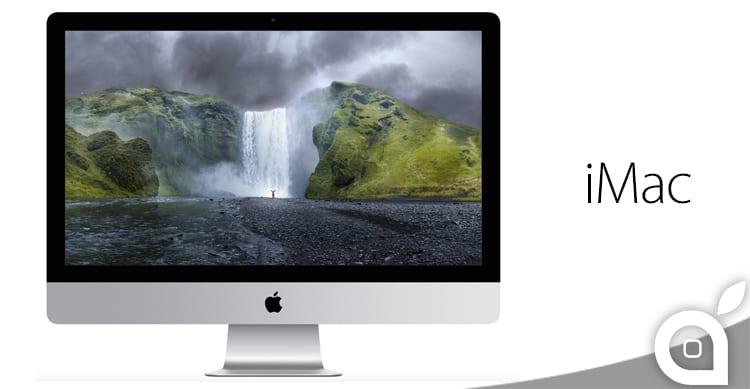Ecco il nuovo iMac: Retina Display con risoluzione 5K e migliori specifiche