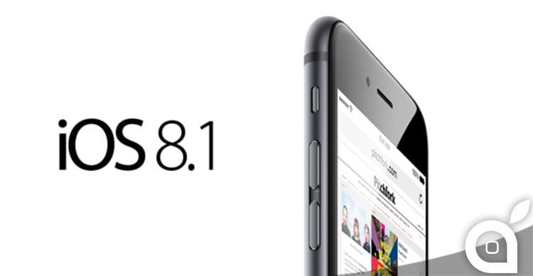 A che ora verrà rilasciato iOS 8.1?