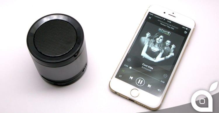 iSpazio sconta Etekcity RoverBeats T16: speaker Bluetooth portatile con moschettone – La Recensione di iSpazio