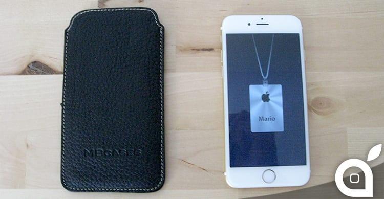 MBcases ClassiCase: custodia per iPhone 6 in vera pelle hand made in Italy – La recensione di iSpazio