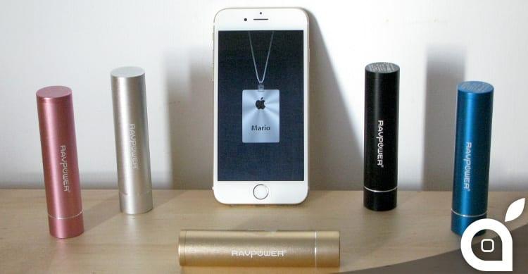 iSpazio sconta RAVPower Luster mini: la batteria per iPhone compatta, economica e colorata – La Recensione di iSpazio