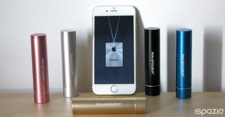 iSpazio-MR-RAVPower luster mini 3000-iphone 6