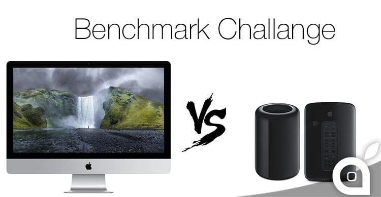 imac 27 5k Mac PRo benchmark