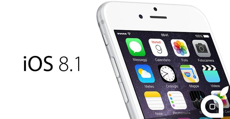 Con iOS 8.1 è possibile disattivare sia l'LTE che il 3G
