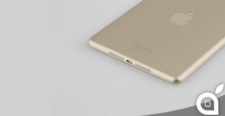 Il prossimo iPad Air sarà disponibile nel colore oro