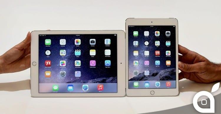 iPad Air 2 e iPad mini 3: ecco i risultati dei test effettuati da DisplayMate