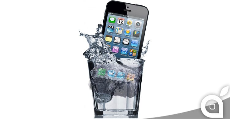 iphone danno da liquidi