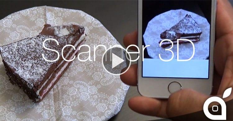 Questa App trasformerà il vostro iPhone in uno Scanner 3D [Video]