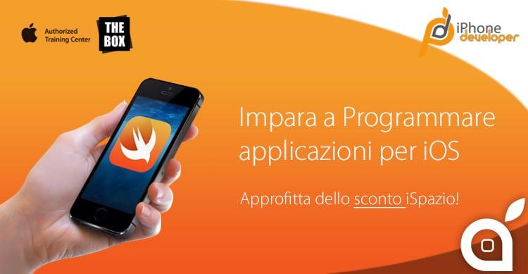 Ecco i corsi di Ottobre per imparare a programmare applicazioni iOS (con sconto esclusivo iSpazio)