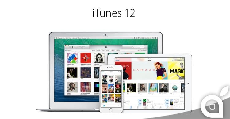 Apple rilascia iTunes 12.0.1 per Mac e Windows