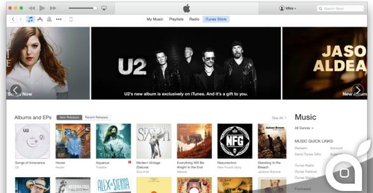 iTunes Store: Apple inizia l'aggiornamento della grafica