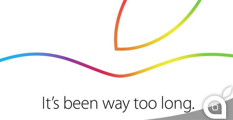 Apple trasmetterà in diretta l'evento del 16 Ottobre