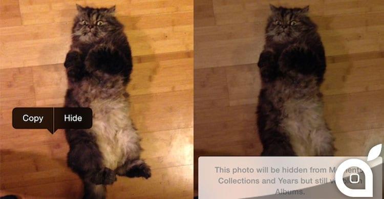 Ecco come nascondere foto personali grazie ad una funzione di iOS 8 [Guida]