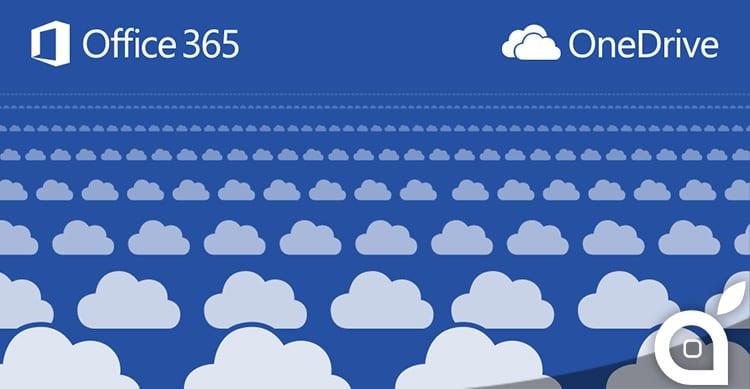 Spazio illimitato su OneDrive a tutti gli utenti di Office 365, ecco l'incredibile offerta di Microsoft