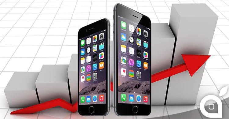 Cresce la quota di mercato degli iPhone in Europa, cala invece negli USA e in Giappone