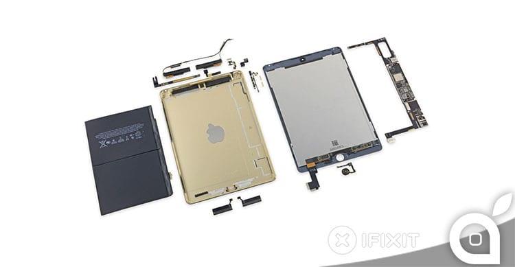Teardown di iPad Air 2: confermati A8X e 2GB di RAM