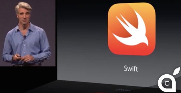 Swift è il 22° linguaggio preferito dai programmatori