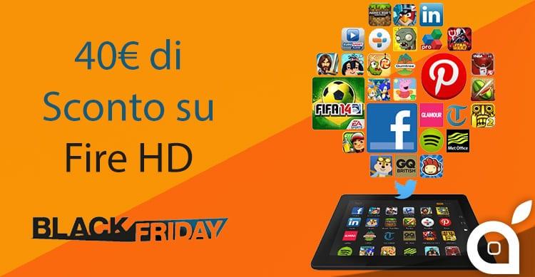 Il tablet Fire HD 7 scontato di 40€ su Amazon – Ultimo giorno