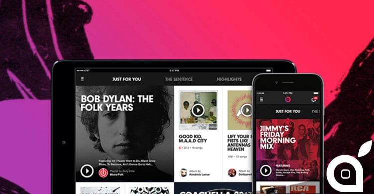 Beats Music su iOS