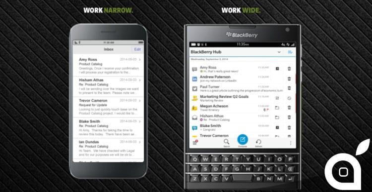 La nuova campagna di BlackBerry: permuta il tuo iPhone per un Passport